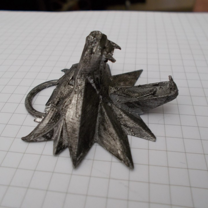Picture of print of The Witcher 3 - Wolf Head Talisman This print has been uploaded by Bernardo Bertilorenzi