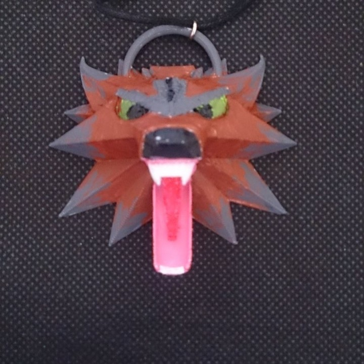 Picture of print of The Witcher 3 - Wolf Head Talisman This print has been uploaded by Hofer Jean-Claude
