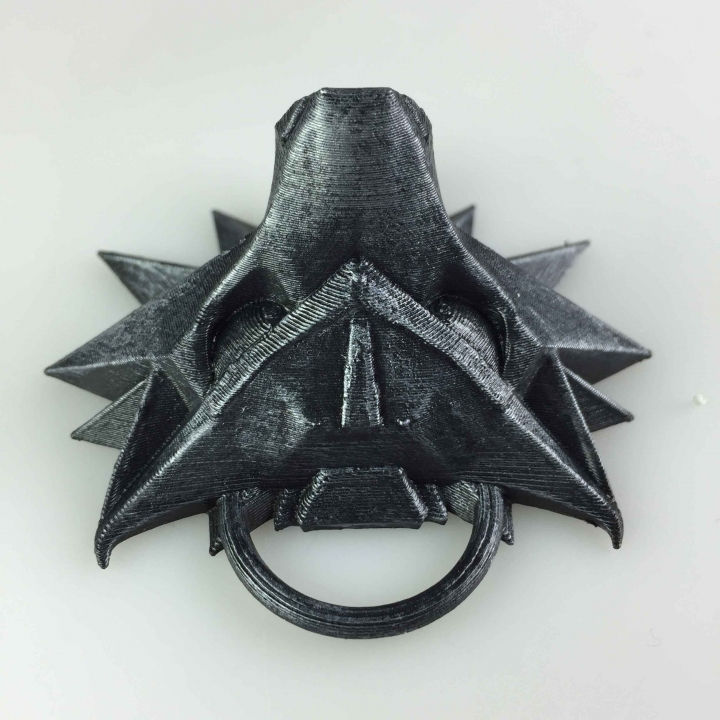 The Witcher 3 - Wolf Head Talisman