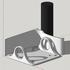 Modular Wall Mounted Headphone Rack image