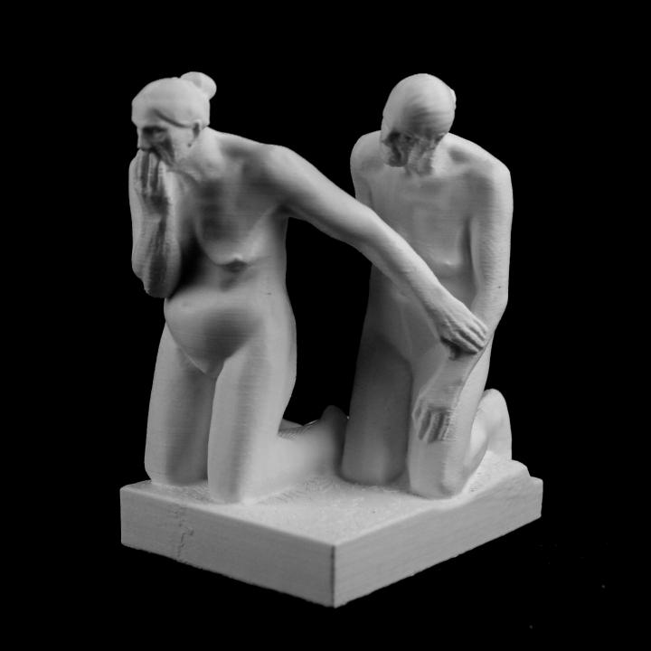 Sculpture at The Vigeland Sculpture Park, Norway