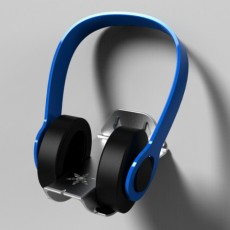 """Picture of print of SilverStone Headphone Stand Design Contest """"tongue"""""""