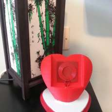 3d Printed Heart + Wireless Charging