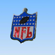 Picture of print of Logo NFL Football american