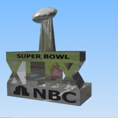 Picture of print of Cup Super Bowl