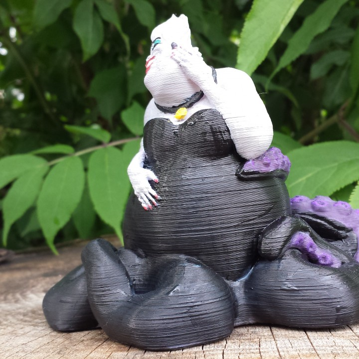 Picture of print of Ursula - The Little Mermaid This print has been uploaded by Tanya Wiesner