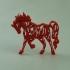 tribal horse image