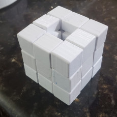 Picture of print of 3D printable Rubik's Cube