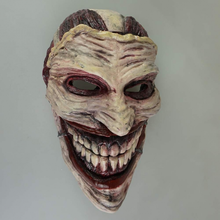 3D Printable Joker Mask by Stefanos Anagnostopoulos ca65707cb1