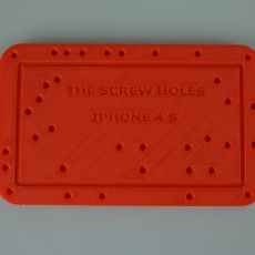 The screw holes iphone 4 S