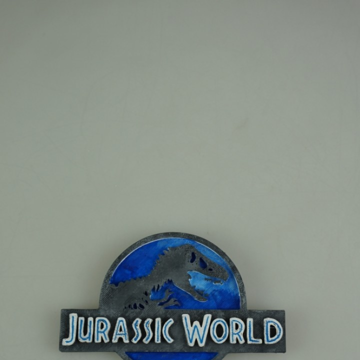 3d Printable Jurassic World Logo By Simone Fontana