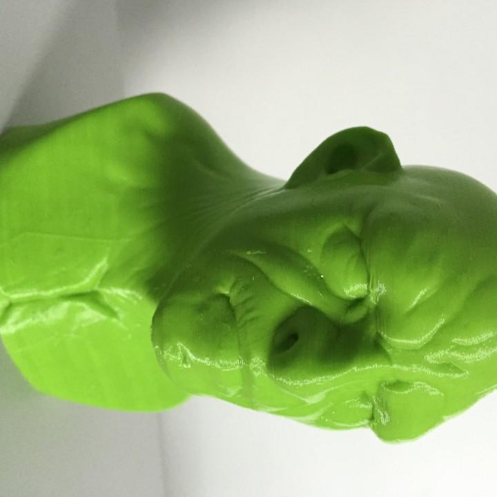 Troll bust sculpt