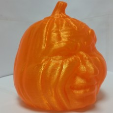 Picture of print of Grumpy Jack O'Lantern