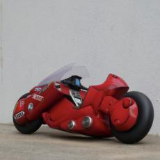 Picture of print of AKIRA - Kaneda's Bike