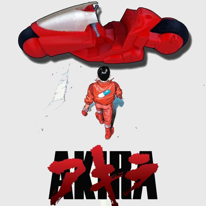 AKIRA - Kaneda's Bike