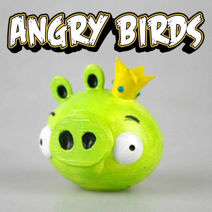 KING PIG - Angry Birds