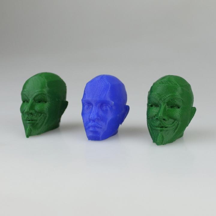 Anonymous Figurine Head