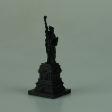 STATUE OF LIBERTY WITH BASE BUILDING