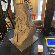 Picture of print of Albus Dumbledore Bust This print has been uploaded by Mark Brown