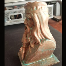 Picture of print of Albus Dumbledore Bust This print has been uploaded by Brandon