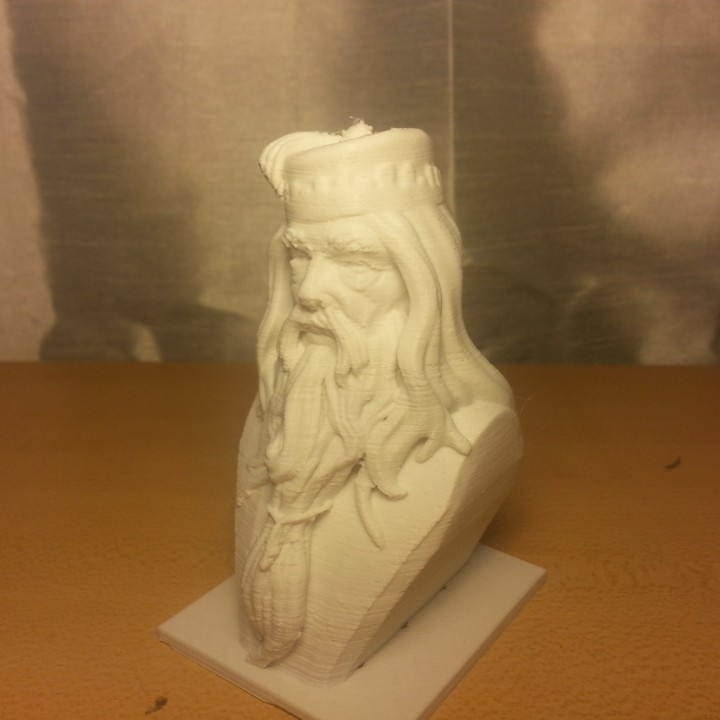 Picture of print of Albus Dumbledore Bust This print has been uploaded by Junior General