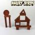 WOOD BLOCKS - Angry Birds image