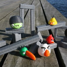 Picture of print of STONE BLOCKS - Angry Birds