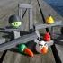 STONE BLOCKS - Angry Birds print image