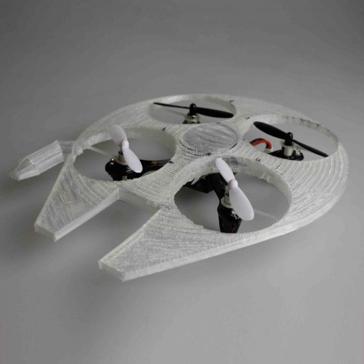 Millennium Falcon Drone Shell