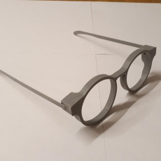 Picture of print of Glasses Frames with bendable arms - Round Frames