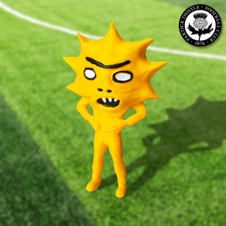 Kingsley! Partick Thistle's New Mascot!!!