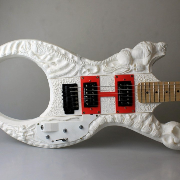 Lovecraft concept guitar
