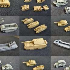 1:200 Tanks and Vehicles - Pack 3
