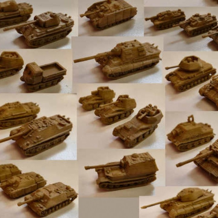 1:200 Tanks and Vehicles, 1944-45