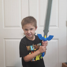 Picture of print of Zelda Master Sword - Size 2