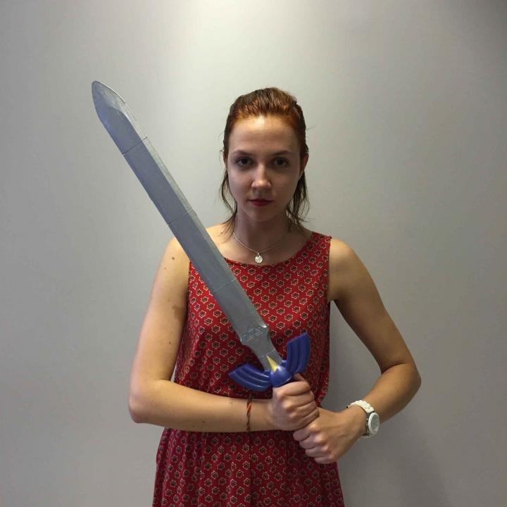 Zelda Master Sword - Size 2