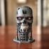 T-800 Terminator Skull print image