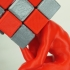 The Cuber (Thinker + Rubik's Cube) image