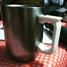 Picture of print of Handle for steel coffee cup