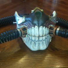 Picture of print of Immortal Joe Mask - Mad Max This print has been uploaded by Mark Wilson