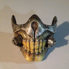 Picture of print of Immortal Joe Mask - Mad Max