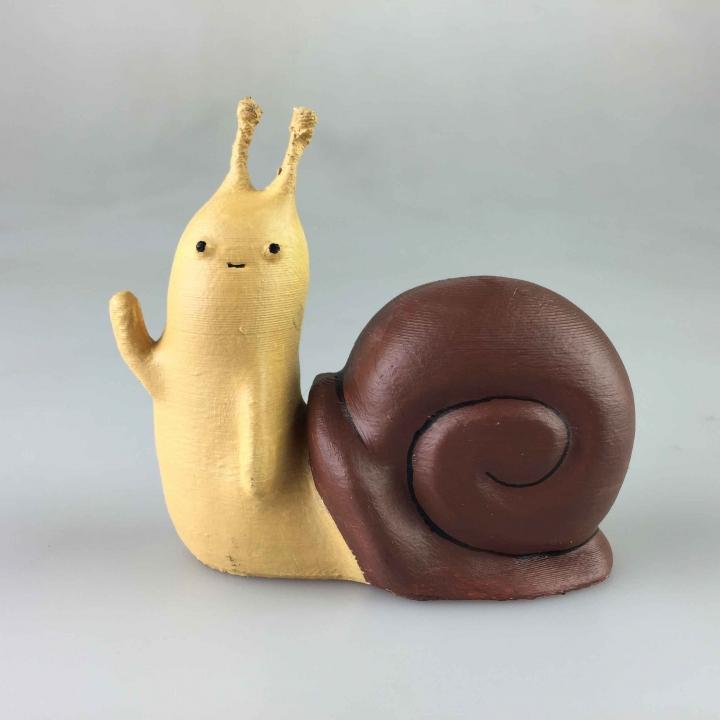 Adventure Time - Waving Snail