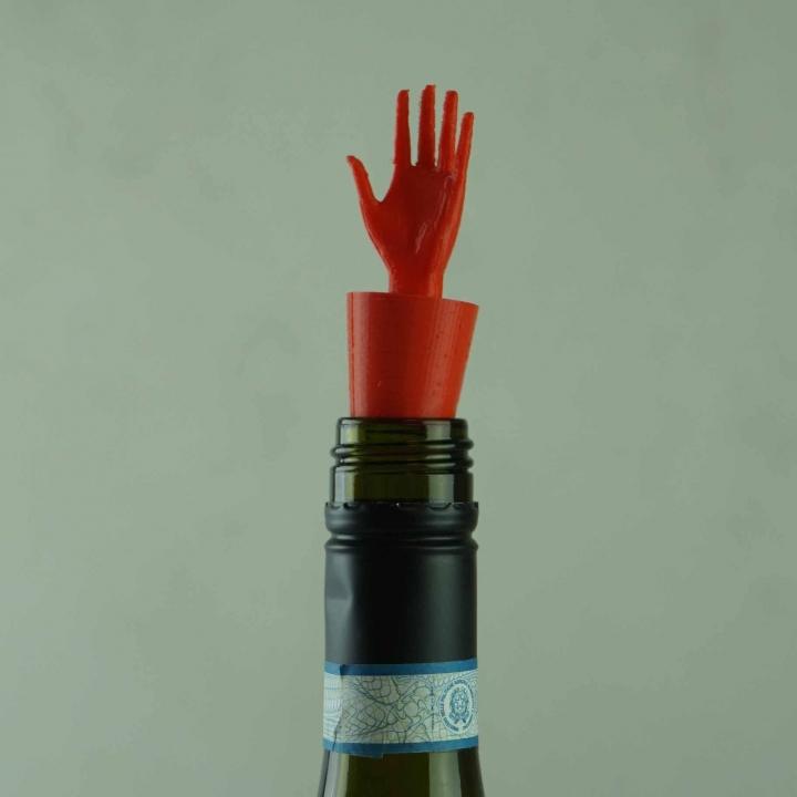 Handy Bottle stopper - Left