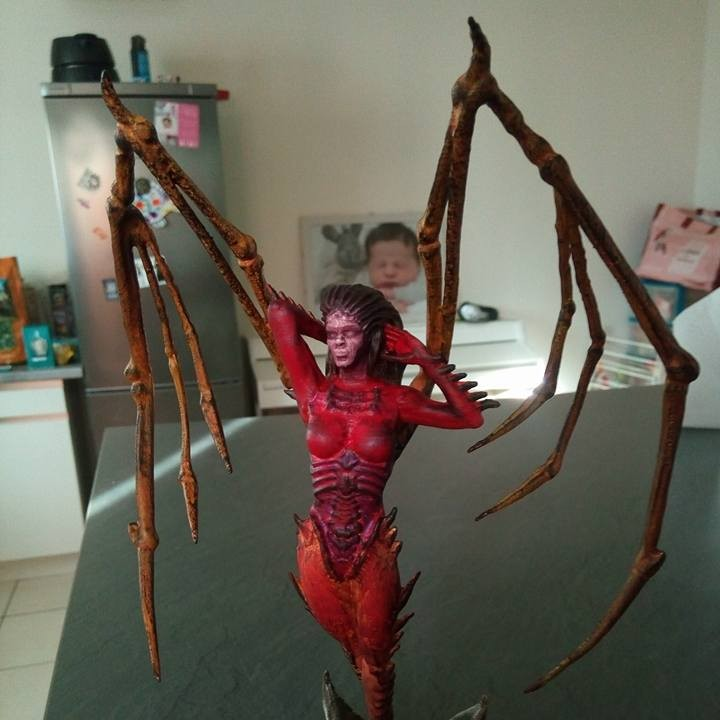 Picture of print of Starcraft KERRIGAN statue This print has been uploaded by Riker Rahl