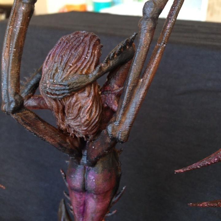 Picture of print of Starcraft KERRIGAN statue This print has been uploaded by Dániel