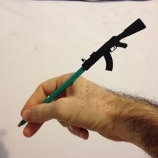 Picture of print of Pencil/Pen Cap Weapon - Je Suis Charlie