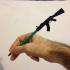 Pencil/Pen Cap Weapon - Je Suis Charlie print image