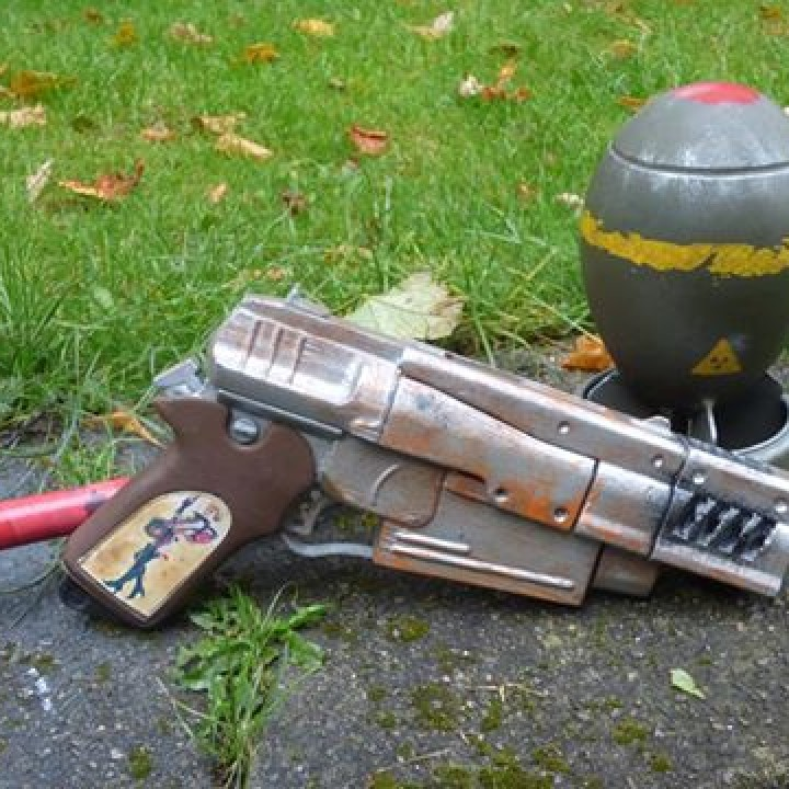 Picture of print of Fallout 4 - 10mm Pistol This print has been uploaded by Paul Herd