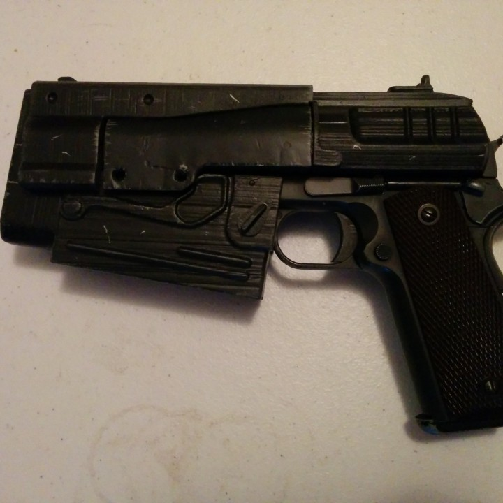 Picture of print of Fallout 4 - 10mm Pistol This print has been uploaded by Anthony Perez