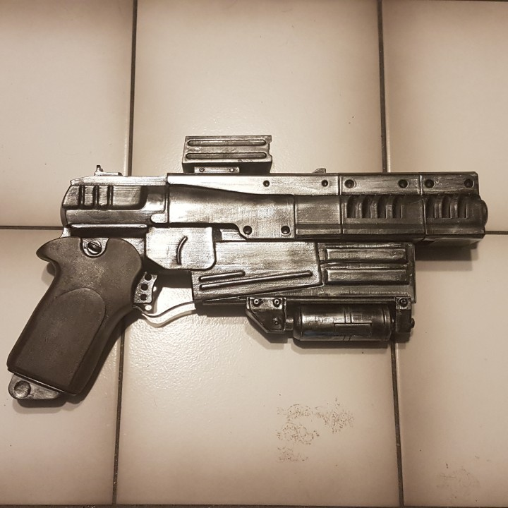 Picture of print of Fallout 4 - 10mm Pistol This print has been uploaded by Ulrik Hedin